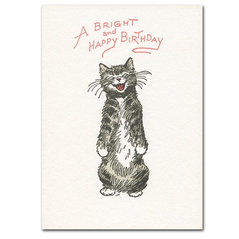 Cat Smile (Birthday) Card
