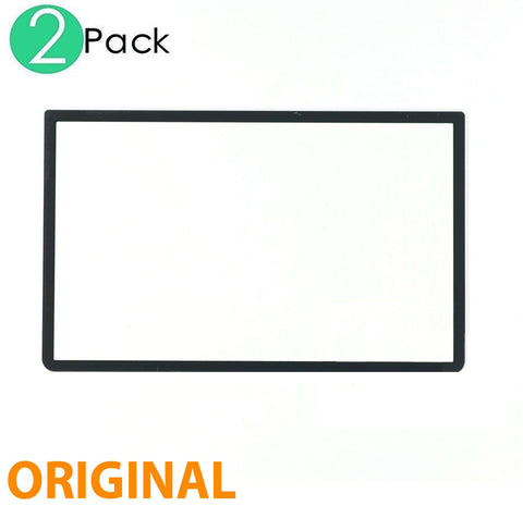Black Top Plastic Screen Frame Surround Protector Cover For Nintendo 3DS XL/LL