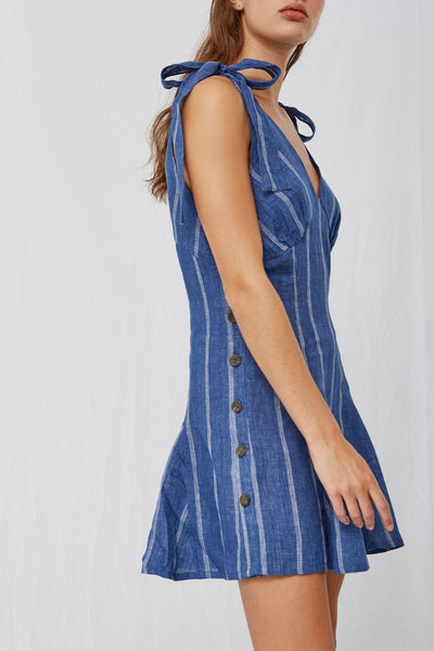 Nixie Shoulder Tie Dress SOLD OUT