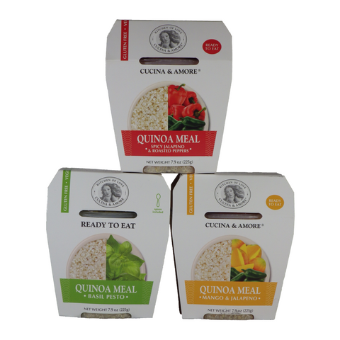 Cucina & Amore - Quinoa Meals - Single serving cups