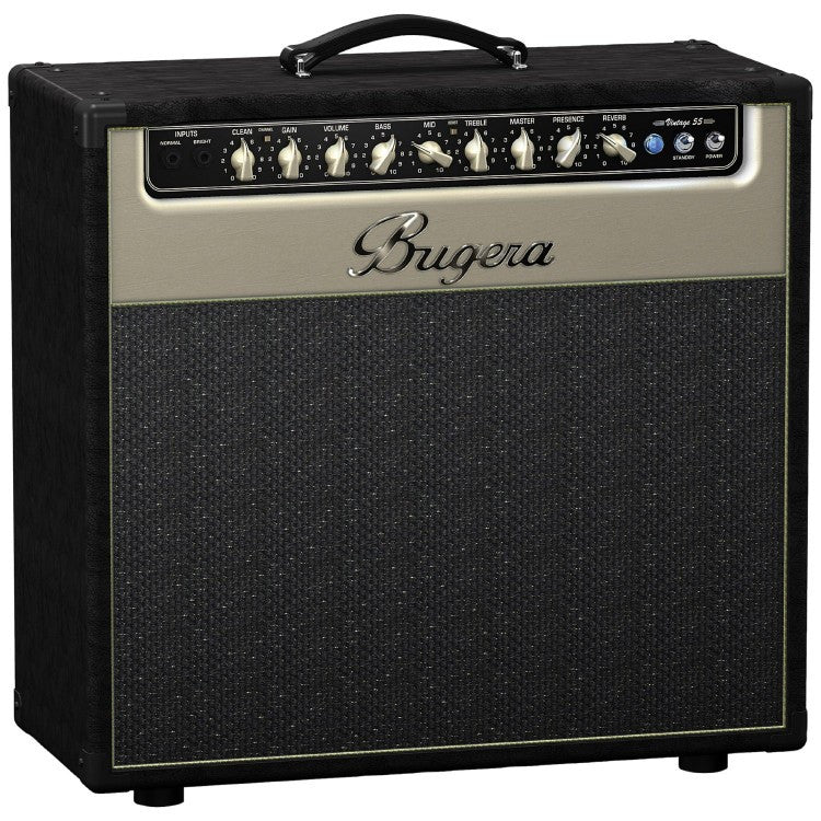 Bugera V55HD 55-Watt Vintage 2-Channel Valve Combo with Reverb