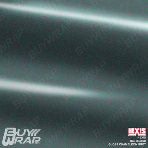 Hexis HX30G446B Gloss Chameleon Grey Iridescent vehicle wrap vinyl film