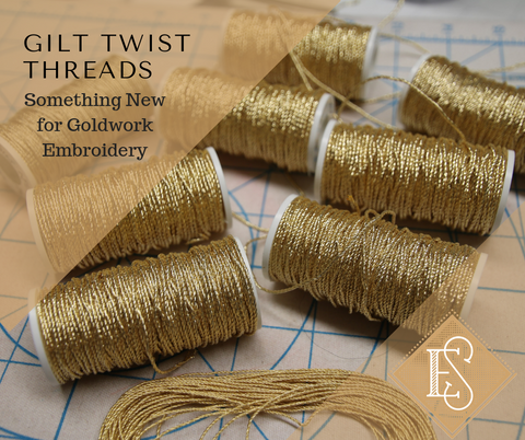 Gilt Twist Gold Cords and Threads