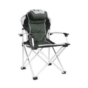 ProMech Racing Fold-Up Paddock Chair with Carry Bag - Phantom Grey