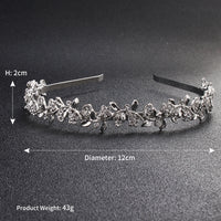 #04418203 Ladies' Rhinestone, Alloy Headband