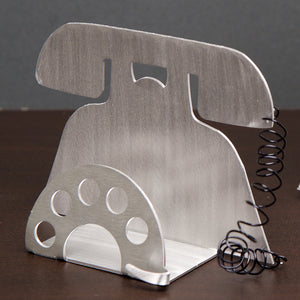 Telephone Business Card Holder
