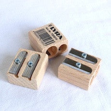 Lyra Twin Hole Wood Sharpener