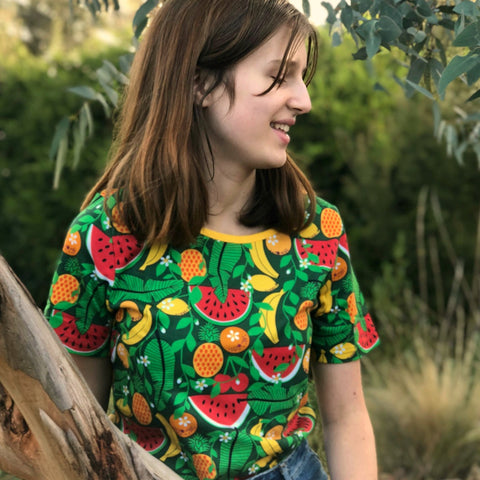 Organic Cotton Tropical Punch Tee