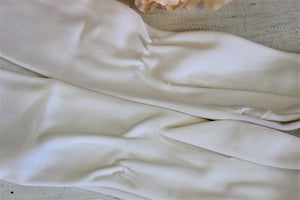 Vintage 1950s 1960s White Gloves by Fownes
