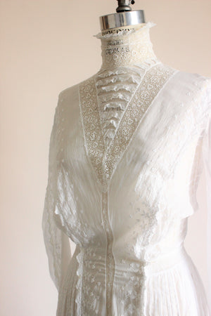 "Antique Edwardian White Dress, ""THE"" Dress"