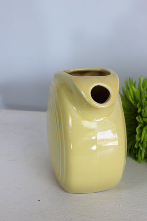 Vintage 1940s Fiesta Yellow Pitcher