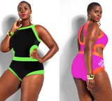 Womens Trendy Plus Size Stylish Swimsuit