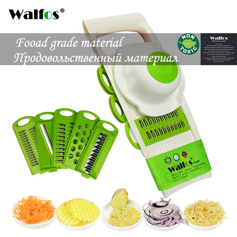 Peeler Grater Vegetable Cutter with 5 Blade Carrot Grater Onion Vegetable Slicer Kitchen Accessory