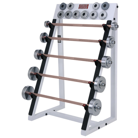 Poles Apart® Adjustable Barbell Set