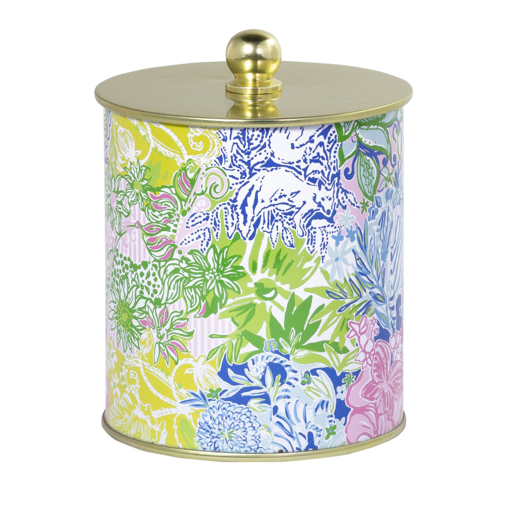 Lilly Pulitzer Large Candle, Cheek To Cheek