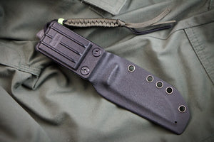 Nikki D2 Camping Knife With Satin Finish Sheath From Kizlyar Supreme