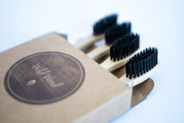 Bamboo Toothbrush - 4 Pack