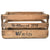 "Personalized Vintage Wine Crate ""Wein"" Distressed"