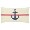 Anchor Vintage Grain Sack Pillow