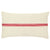 Red Stripe Vintage Grain Sack Pillow