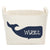 Personalized Blue Whale Basket
