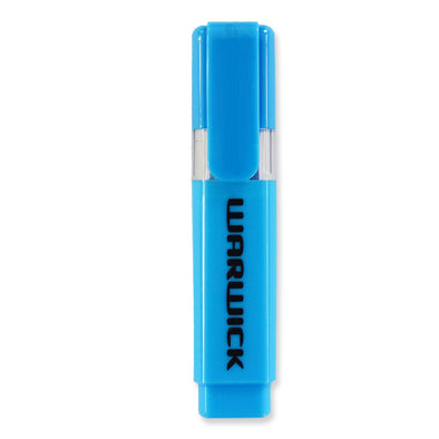 Warwick Highlighter Chisel Tip Stubby Blue