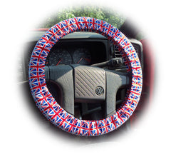 Union Jack Flag Cotton Car Steering Wheel Cover