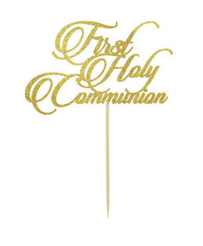 First Holy Communion Topper Fancy Style