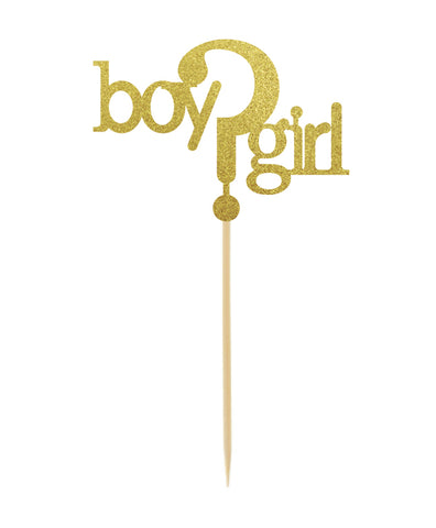 Boy?Girl Cake Topper