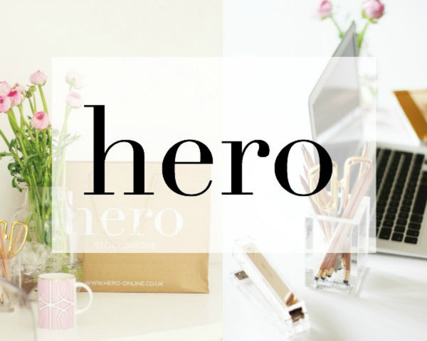 The Hero name + how to create a strong brand