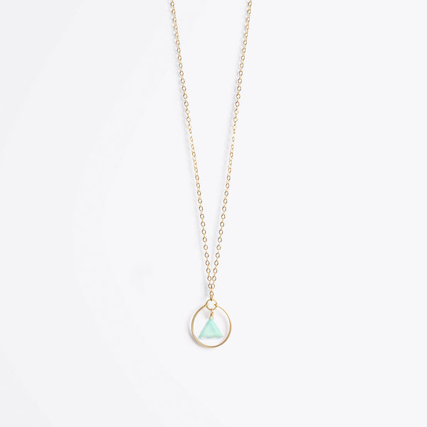 Stella Prism Gold Chain Necklace