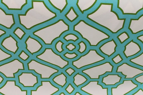 Fretwork Jade - Golden D'or Fabrics