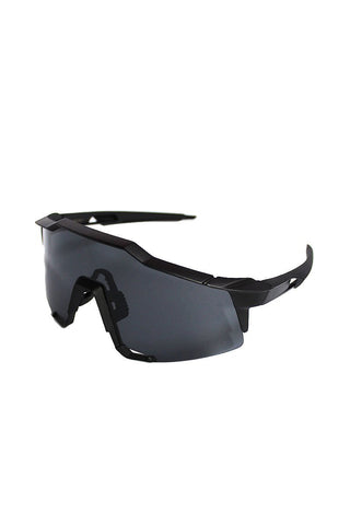 Industrial Shield Sunglasses-Black