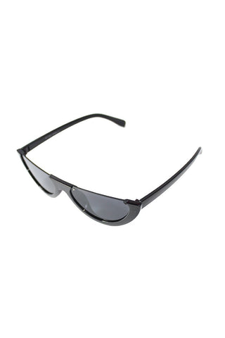 Half Eye Sunglasses-Black