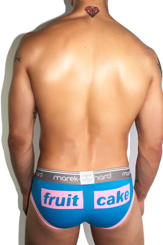Core Open Back Brief-Pink