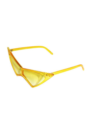 Extreme Cat Eye Sunglasses-Yellow