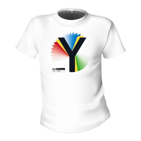 Rainbow Y T Shirt - White