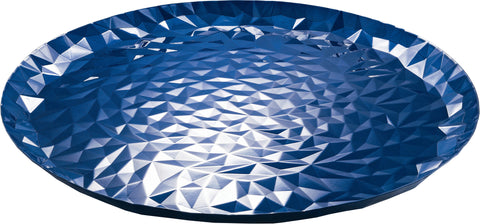 "A-""Joy n.3 round tray blue"