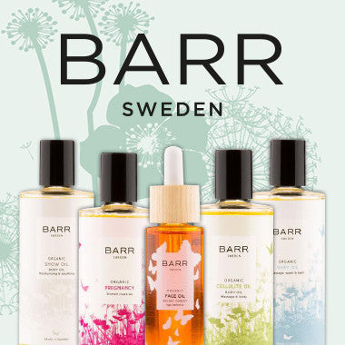 Barr Sweden Skincare products