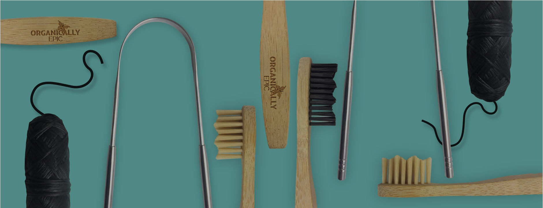 Reduced plastic dental care products