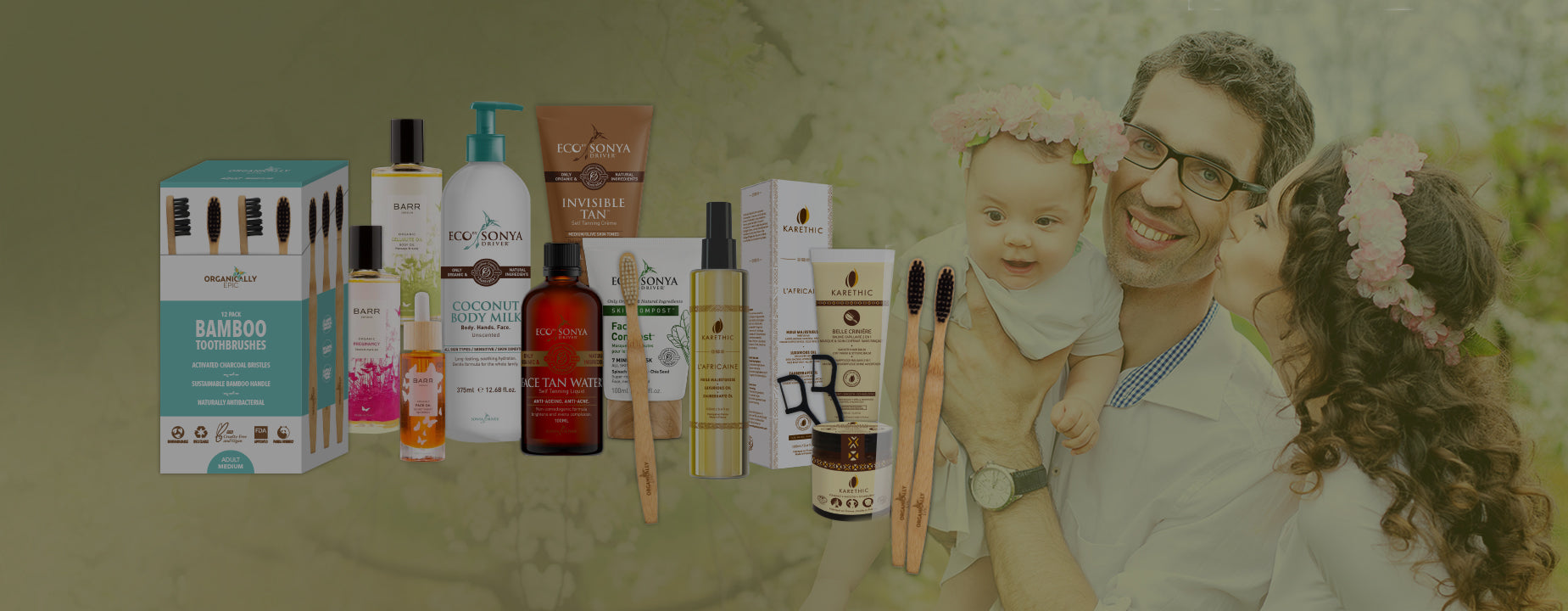 Natural beauty products for your family