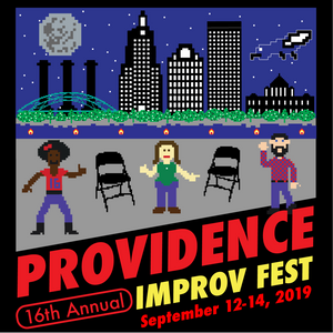 16th Annual Providence Improv Fest Square Art