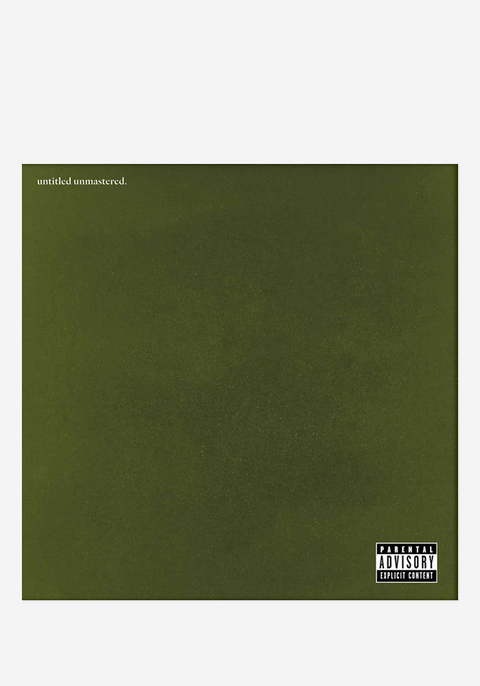 KENDRICK LAMAR Untitled Unmastered LP
