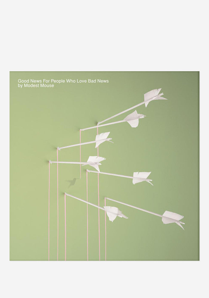 MODEST MOUSE Good News For People Who Like Bad News 2 LP