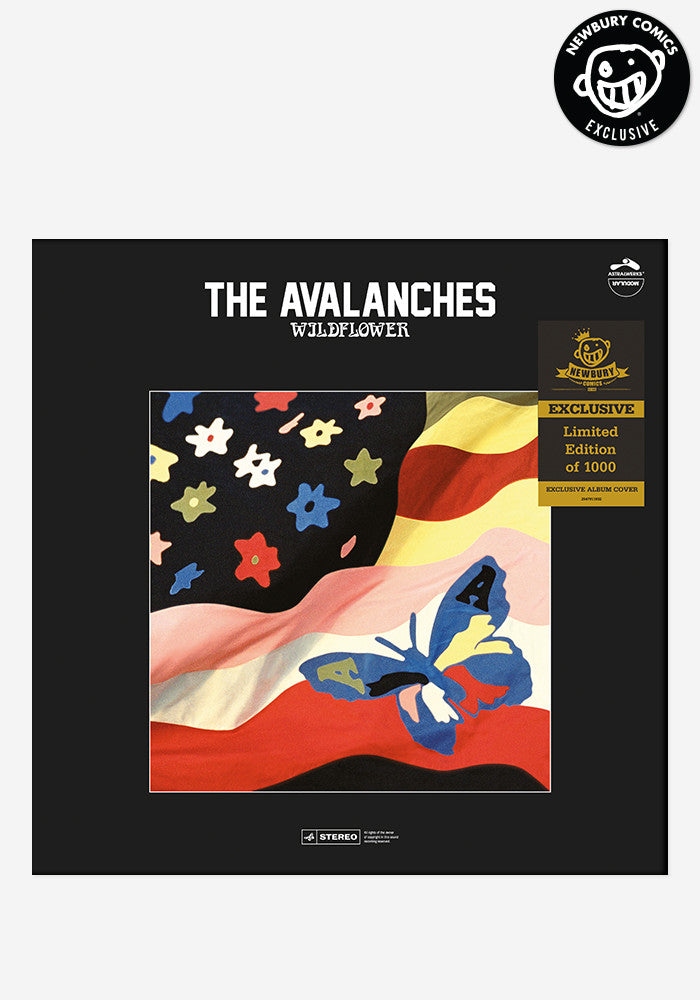 THE AVALANCHES Wildflower Exclusive 2 LP