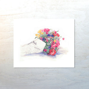 Special Edition Bouquet Print