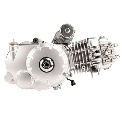 Engine Assembly - 125cc Automatic with Reverse - Aluminum Cylinder - Version 4 - VMC Chinese Parts