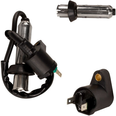 Ignition Coil for GY6 50cc 125cc 150cc with Straight Metal Cap - Version 26