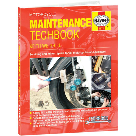 Haynes Motorcycle Maintenance Service Manual - 4071 - Maintenance Techbook