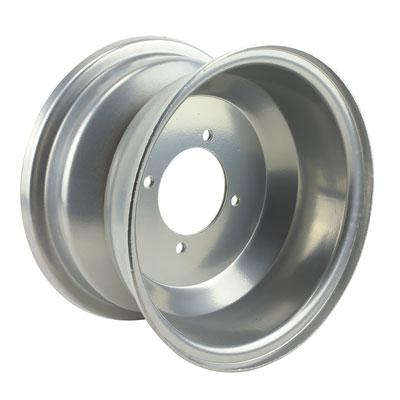 5.25 x 8 FRONT Rim / Wheel - 4 Bolt - Silver - Version 18 - VMC Chinese Parts